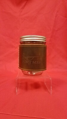 Fort Meigs Leather Mason Jar