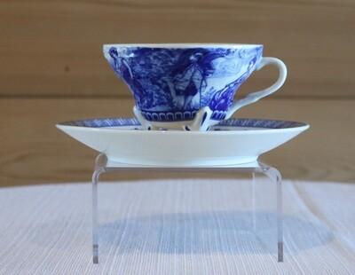 Liberty Blue Tea Cup and Saucer