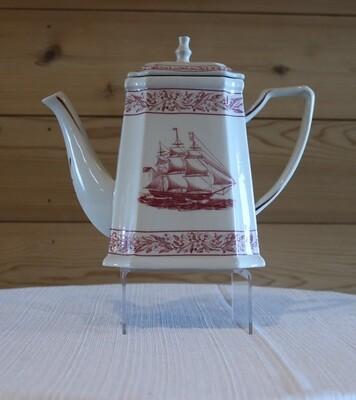 Pink Nautical Teapot