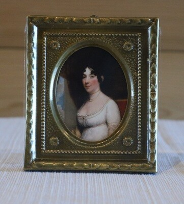 Dolley Madison Framed Picture