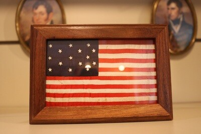 Fort McHenry Flag Wooden Box
