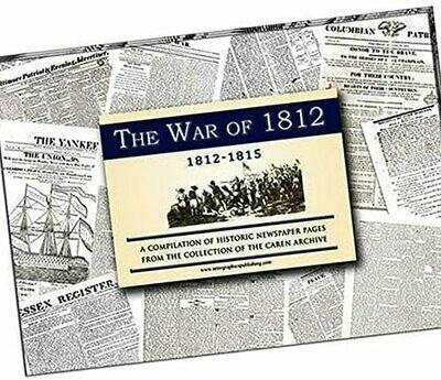 War of 1812 Newspaper