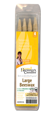 Ear Candle 4Pkt Large Beeswax