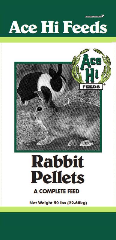 Ace Hi Rabbit Pellet 50lb