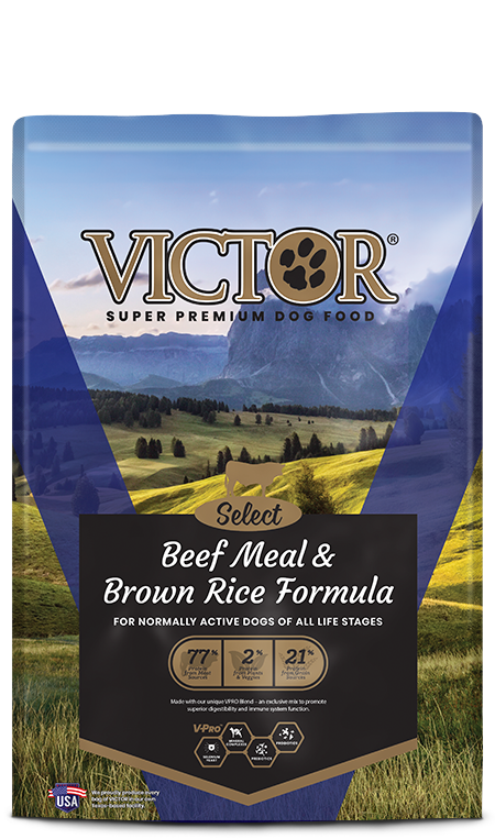 Victor Beef Brown Rice 5lb