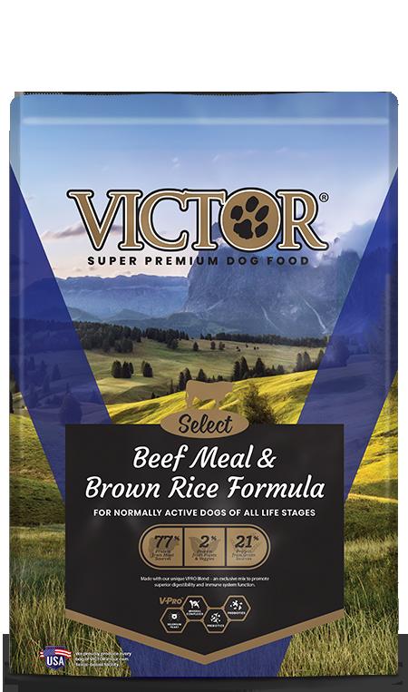 Victor Beef B/Rice 40#(Dk Blue)