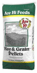 Alfalfa Hay & Grain Pellets