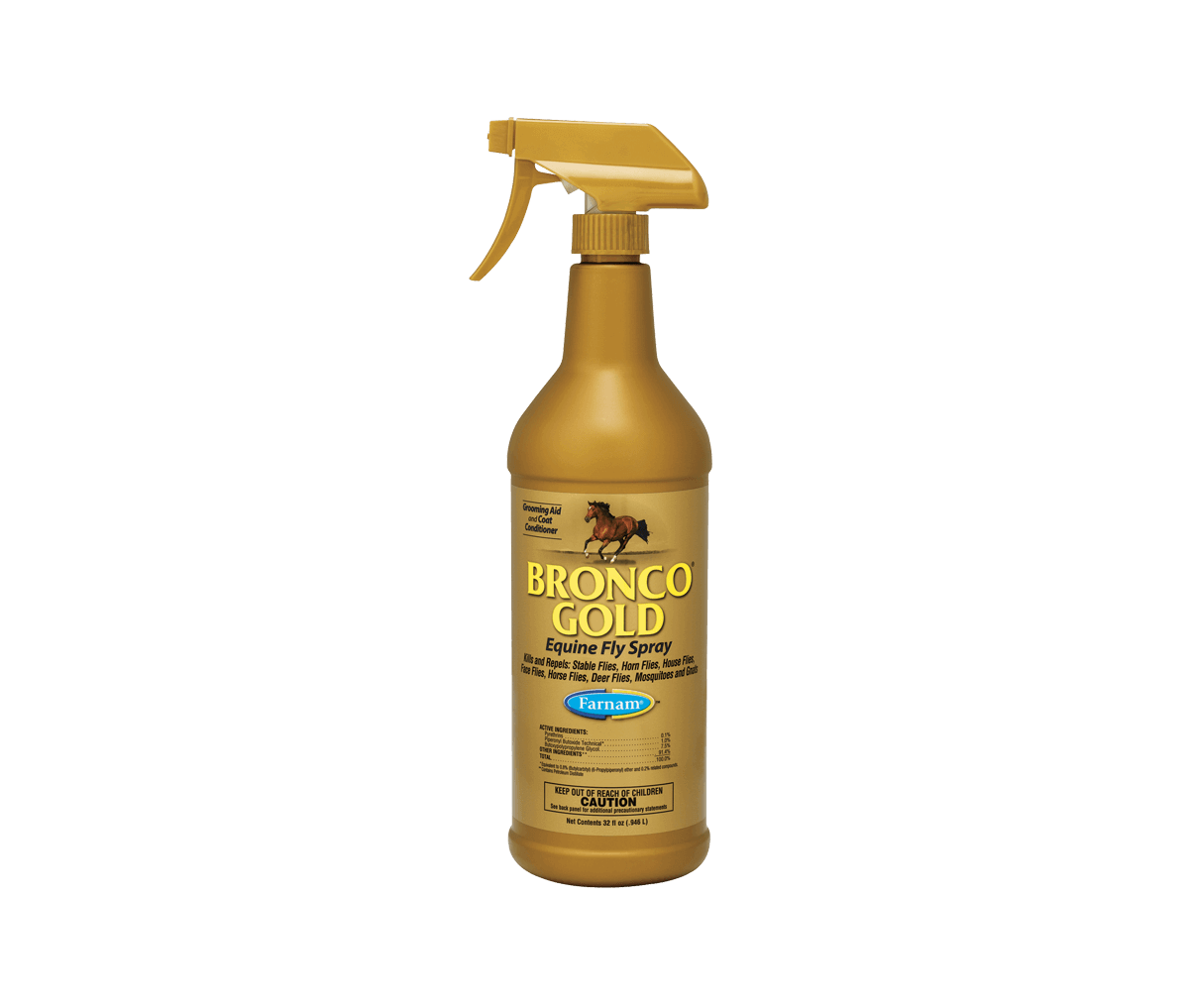 Bronco Gold Fly Spray 32oz
