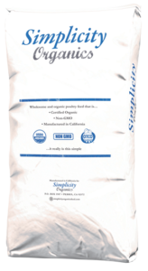 Organic Scratch 40lb Simplicity
