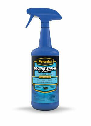 Pyranha Equine Spray and Wipe 32 oz