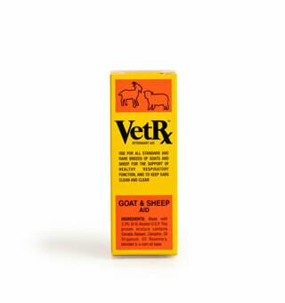 Vetrx Goat /Sheep 2oz