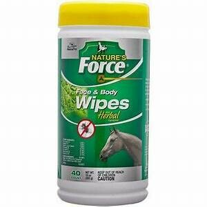 Natures Force Face Wipes 40ct