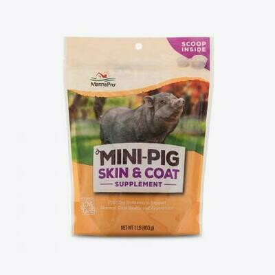 Mini-Pig Skin & Coat 1lb