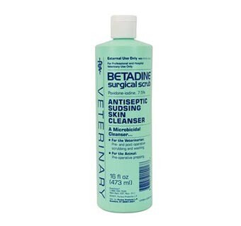 Betadine Surgical Scrub 16oz.