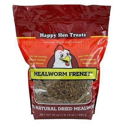 Happy Hen Treats - Meal Worms 30oz
