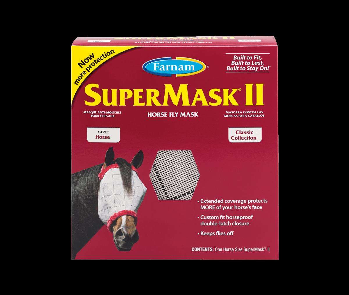 SuperMask II - Horse Fly Mask