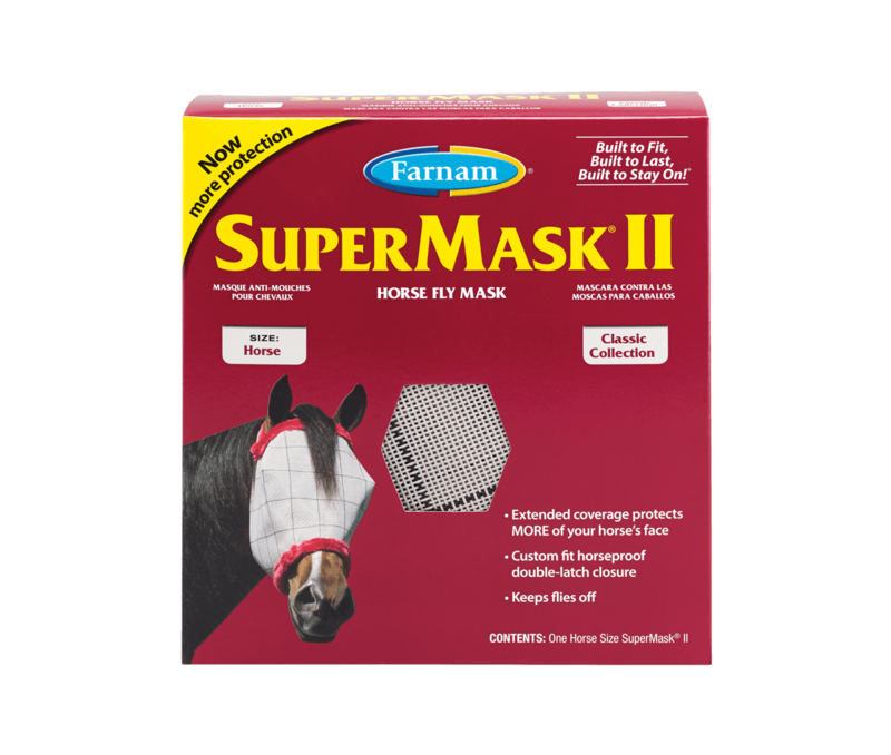 SuperMask II - Horse Fly Mask
