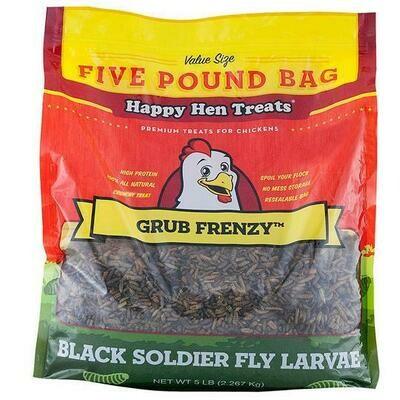 Happy Hen Grub Frenzy 5lb