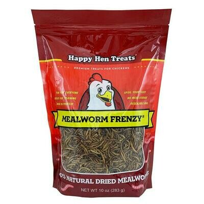Happy Hen Meal Worms 10oz