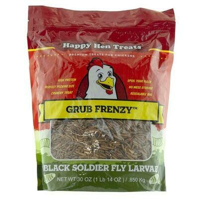 Happy Hen Grub Frenzy 30oz