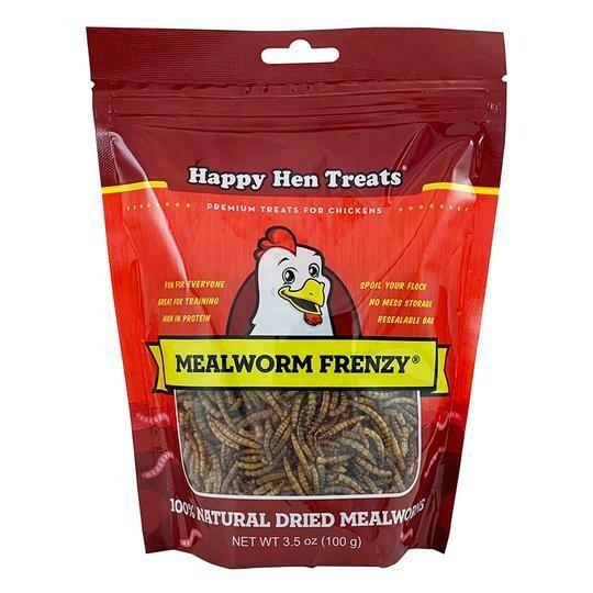 Happy Hen Treats - Meal Worms 3.5oz