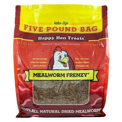 Happy Hen Meal Worms 5lb