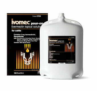 Ivomec Pour-On 8.5 fl oz