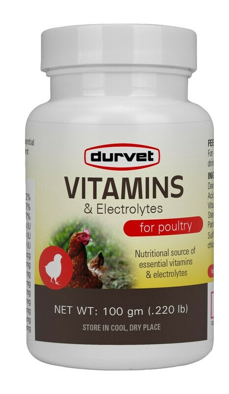 Vitamins & Electrolytes For Poultry 100gm