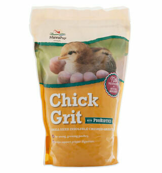 Chick Grit Plus Probiotic 5lb Manna Pro