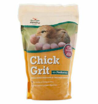 Chick Grit Plus Probiotic 5lb Manna Pro