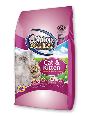 Nutri Source Chicken and Rice Cat/Kitten 1.5lb