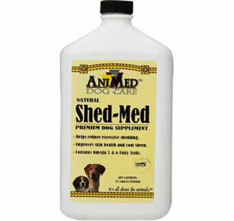 Shed Med Pump Dog 32oz