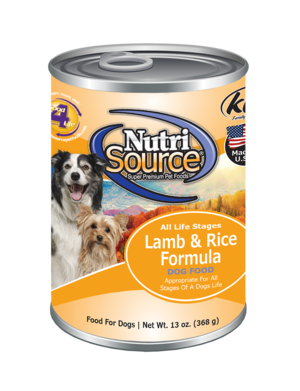 Nutri Source Lamb and Rice 13oz