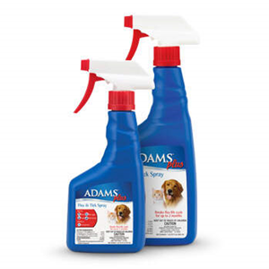 Adams Plus Flea and Tick Spray 16 oz