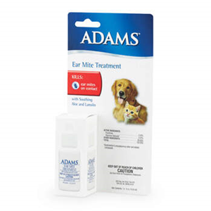 Adams Ear Mite Treatment 1/2oz