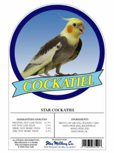 Cockatiel Mix 25