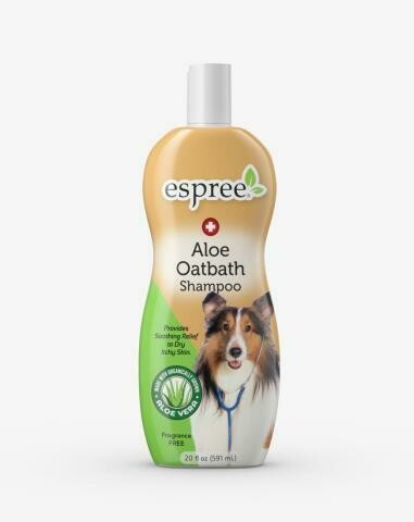 Espree Aloe Oatbath Medicated Shampoo 12oz