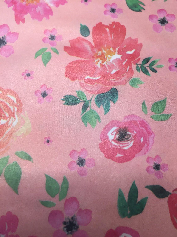 Decoupage Paper Peach Bloom Buy Unicorn Spit All