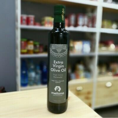 MELLONA Масло оливковое EXTRA VIRGIN,  ст/бут 0,5л х 12