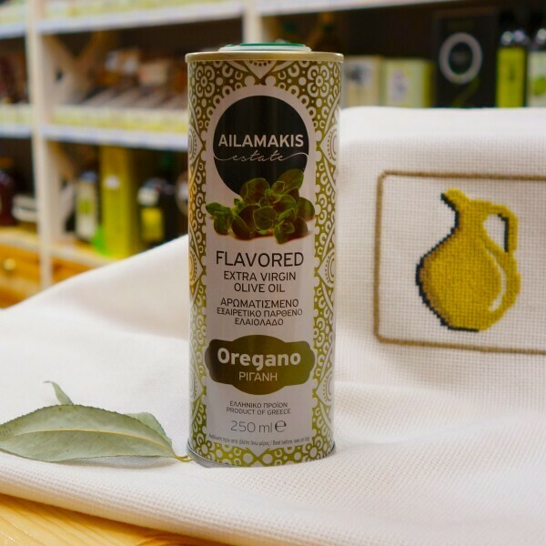 SITIA  Масло оливковое с орегано EXTRA VIRGIN (ж/б 250мл)