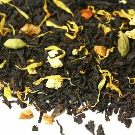 Апельсиновое Печенье - черный чай
