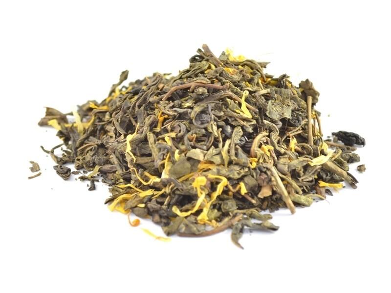 Дыня/Карамель - Чай Зеленый