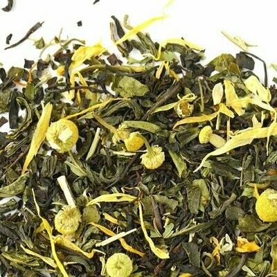 С ромашкой и мятой - Купаж черного/зеленого чая