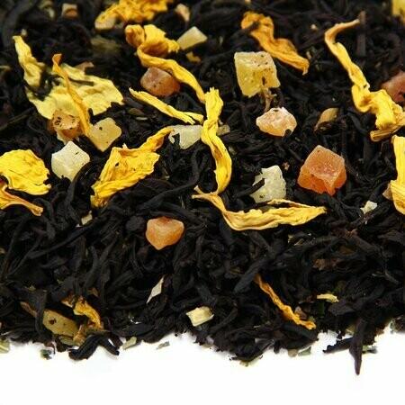 Сладкая Папайя - черный чай