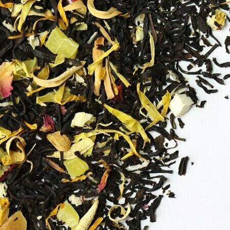 Тропические фрукты премиум - черный чай