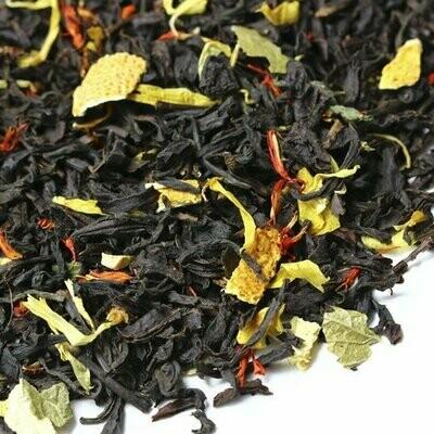 Сладкий цитрус - черный чай