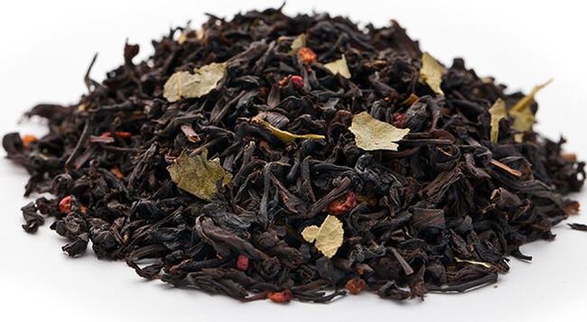 Малина Со Сливками - черный чай