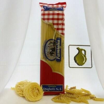 Спагетти n6 Famiglia 500гр.