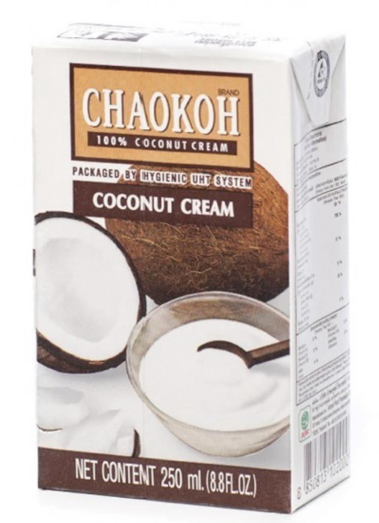 """Сливки кокосовые """"CHAOKOH"""" ROI THAI (250мл)"""