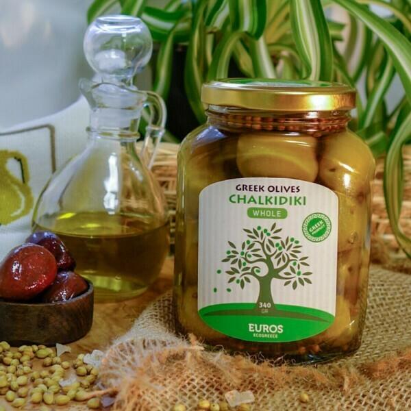 ХАЛКИДИКИ  в оливковом масле Extra Virgin (ст/б 200гр/140гр)